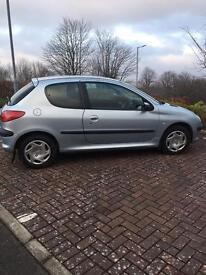 Peugeot 206 for sale - 6 months MOT