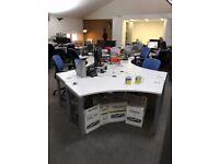 Urgent free desks - Stripe Communications
