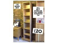 Ikea bookcases various sizes
