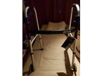 Folding mobility walking frames