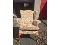 1988 Parker Knoll Hartley Wingback Chair (PK1140)