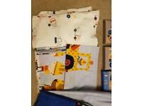 Bob the builder/digger bedroom accessories