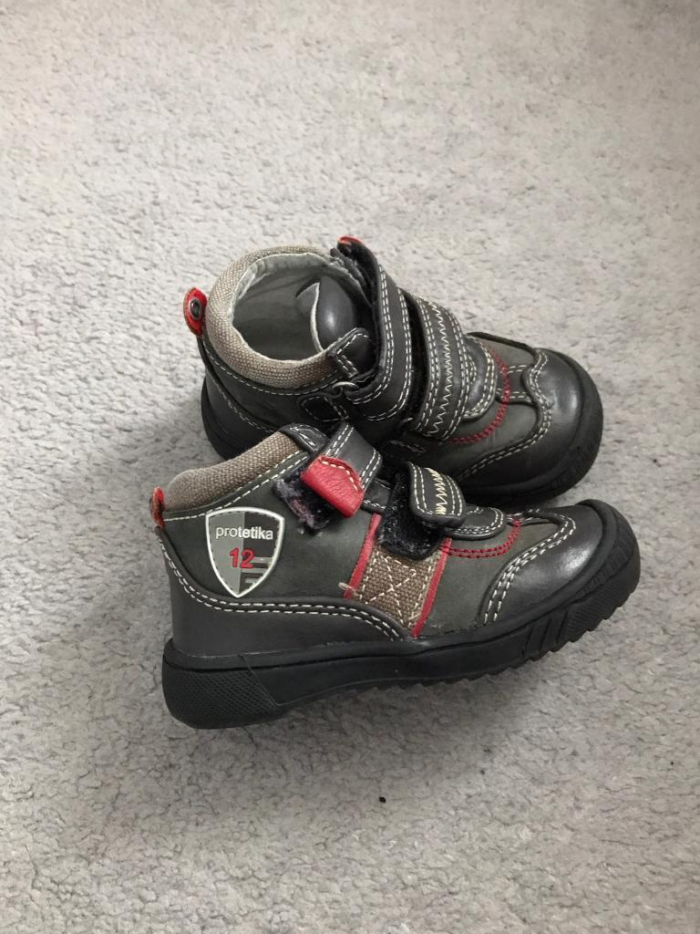 Baby boy boots size 22