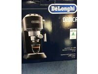DeLonghi DEDICA EC 680.BK Pump Espresso Coffee Machine