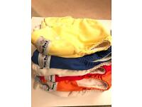 7 Fuzzy Bunz re-useable nappies. Size large