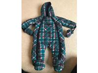 Pramsuit 3-6 month old