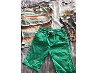 Boys summer clothes bundle age 11-12 Next, River Island and Debenhams