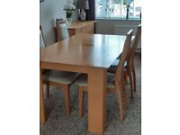 Table 4 Chairs and Matching Sideboard
