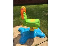 Vetch Bounce And Discover Frog Toddler Bouncer Rocking Horse