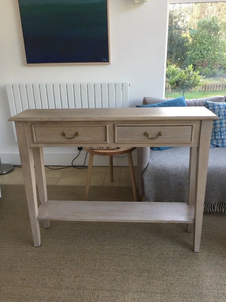 quality design bbcae 1d380 Limewashed Console Table from Cox and Cox | in Farnham, Surrey | Gumtree