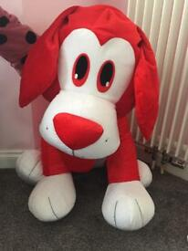 Big red dog teddy