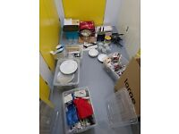 Kitchen Clearout : Cutlery Plates Bowls Pans Utensils Chopping boards and more