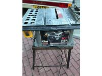 Clarke Table saw with stand