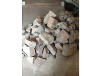 Good size pile of Forest of Dean limestone.