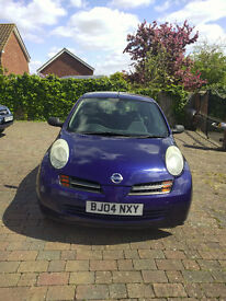 Nissan Micra 2004 Manual 1.2 L Petrol Blue For Sale