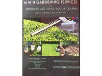 M W H Gardening Services