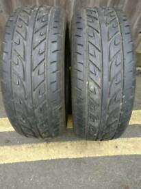 2 x Arrowspeed 215/55 R16 tyres for sale