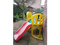 * SOLD AWAITING COLLECTION * Little Tikes Hide and Slide Climber
