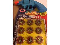 Kids gun with caps