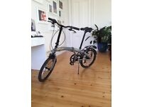 Folding Raleigh bike, 6 months old