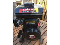 Loncin 97cc gasoline engine with water pump.