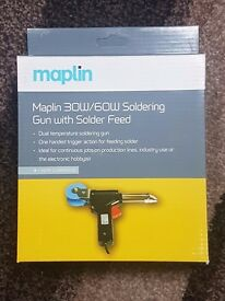 Brand new boxed Maplins electric 30w/60w soldering iron