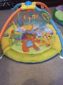Melodies & Mobile baby Activity Gym