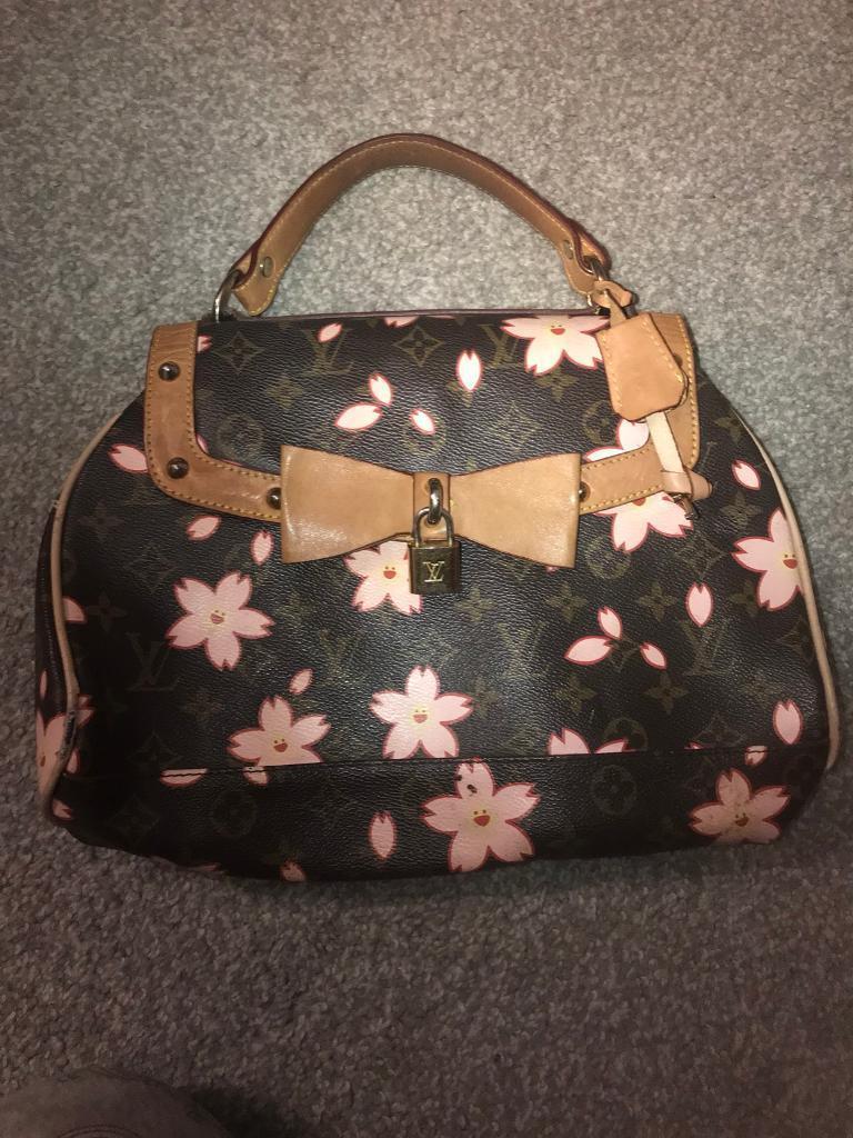 Genuine Louis Vuitton ladies ltd edition bag