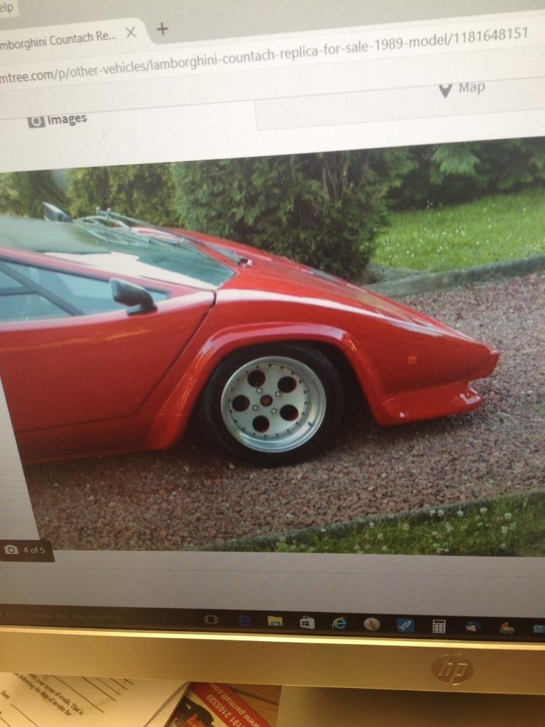 Lamborghini countach replica kit car | in Washington, Tyne and ...