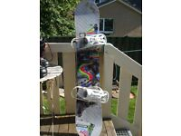 Atomic Axum 156cm Snowboard with bindings