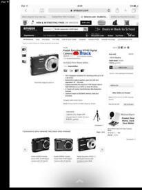 Kodak Easyshare M340 Digital Camera (Black)