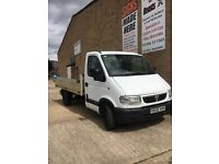 Vauxhall movano flat bed drop side truck LEZ COMPLIANT low mileage ready to go poss export