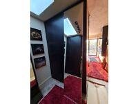 Ikea mirror wardrobe doors