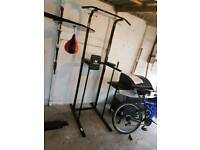 Boxing frame and stand