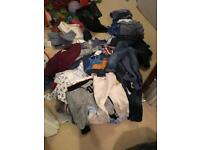 Bundle of baby clothes 9-12 months