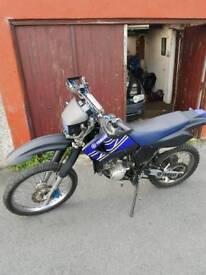Dr 125 motorbike