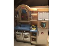Little Tikes Toy Kitchen and BBQ Set