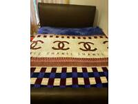 Chanel bed trow