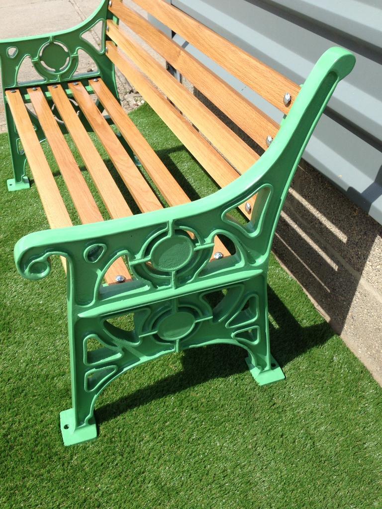 Garden Bench Memorial Commemorative High Quality Vintage