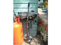 Suzuki DT2 light weight outboard boat engine
