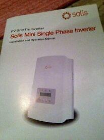 solis mini grid inverter 1KW
