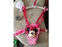 Minnie Mouse baby door bouncer