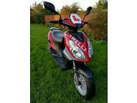 Garelli Tiesse moped scooter 50cc two stroke ... gilera , piaggio , peugeot , vespa , yamaha , honda