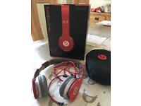 Beats Red headphones