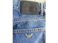 Armani Button Fly Jeans (31/34#)