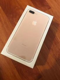 iPhone 7 plus 256gb unlocked brand new sealed RRP £920