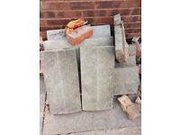 Concrete copings Coping Toppers Wall Garden Patio 10 plus