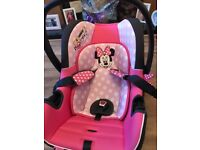 Minnie Mouse car seat..excellent condition £20 Downpatrick