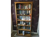 M&S solid wood bookshelf set of two