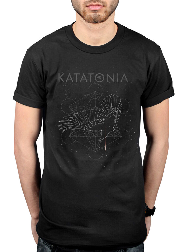 Official Katatonia Constellation T-Shirt Brave Sanctitude Fall Of Hearts Rock